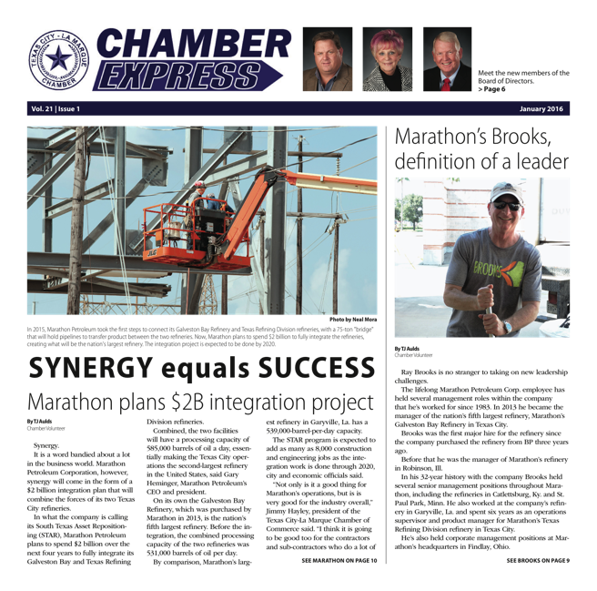 Chamber Express | Site | The Daily News